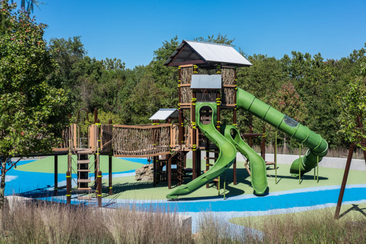 treehouse themed playground